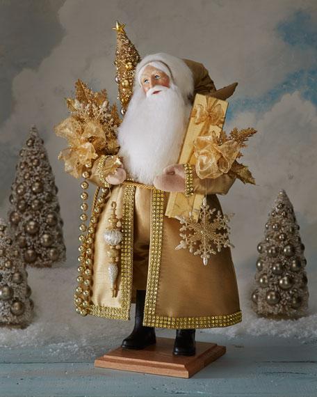 Lynn haney snowflake santa