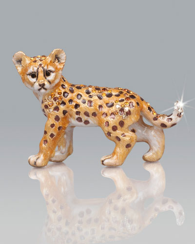 Jay Strongwater Kemi Cheetah Mini Figurine