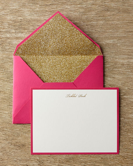 Tickled Pink Correspondence Cards