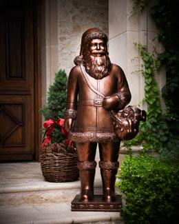 Outdoor Santa Figure