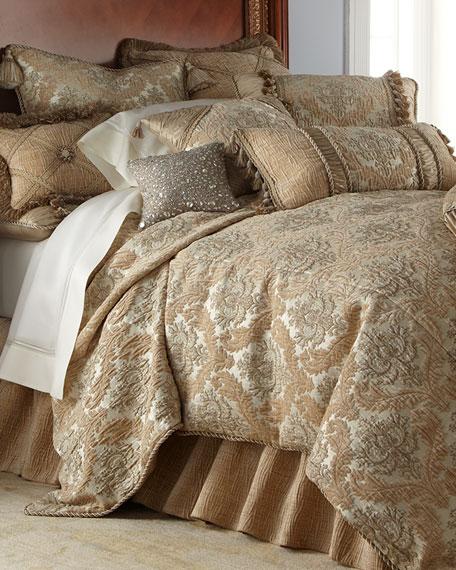 Dian Austin Couture Home Queen Florentine Brocade Duvet