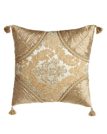Dian Austin Couture Home Florentine Brocade Pillow with
