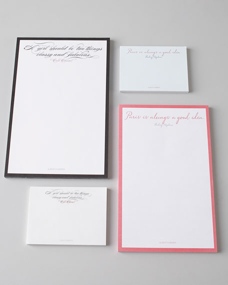 SET OF 2 SCRIBBLE NOTEPADS