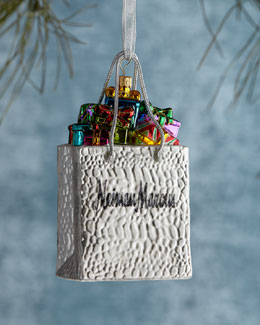 Neiman Marcus Shopping Bag Ornament