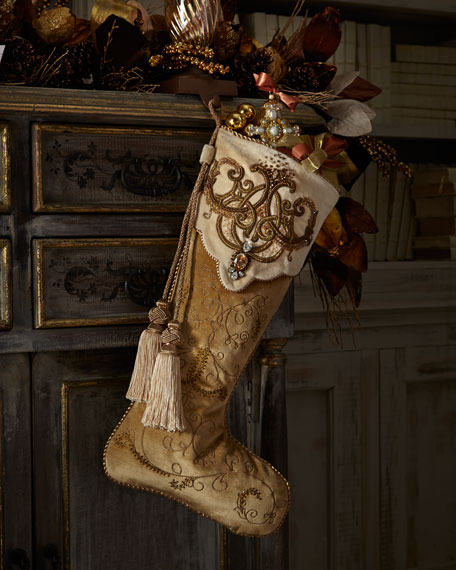Arabesque Christmas Stocking