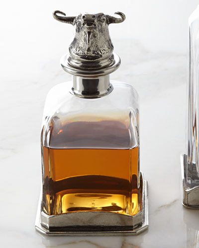 Animale Bull Decanter
