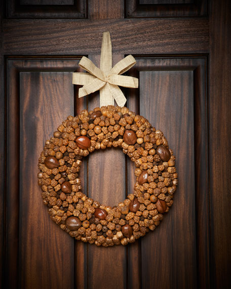 Assorted Dried Nuts Wreath