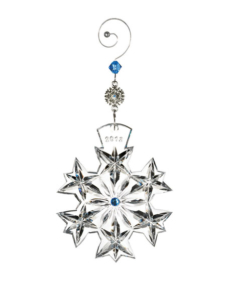 2013 Snowflake Wishes Goodwill Christmas Ornament