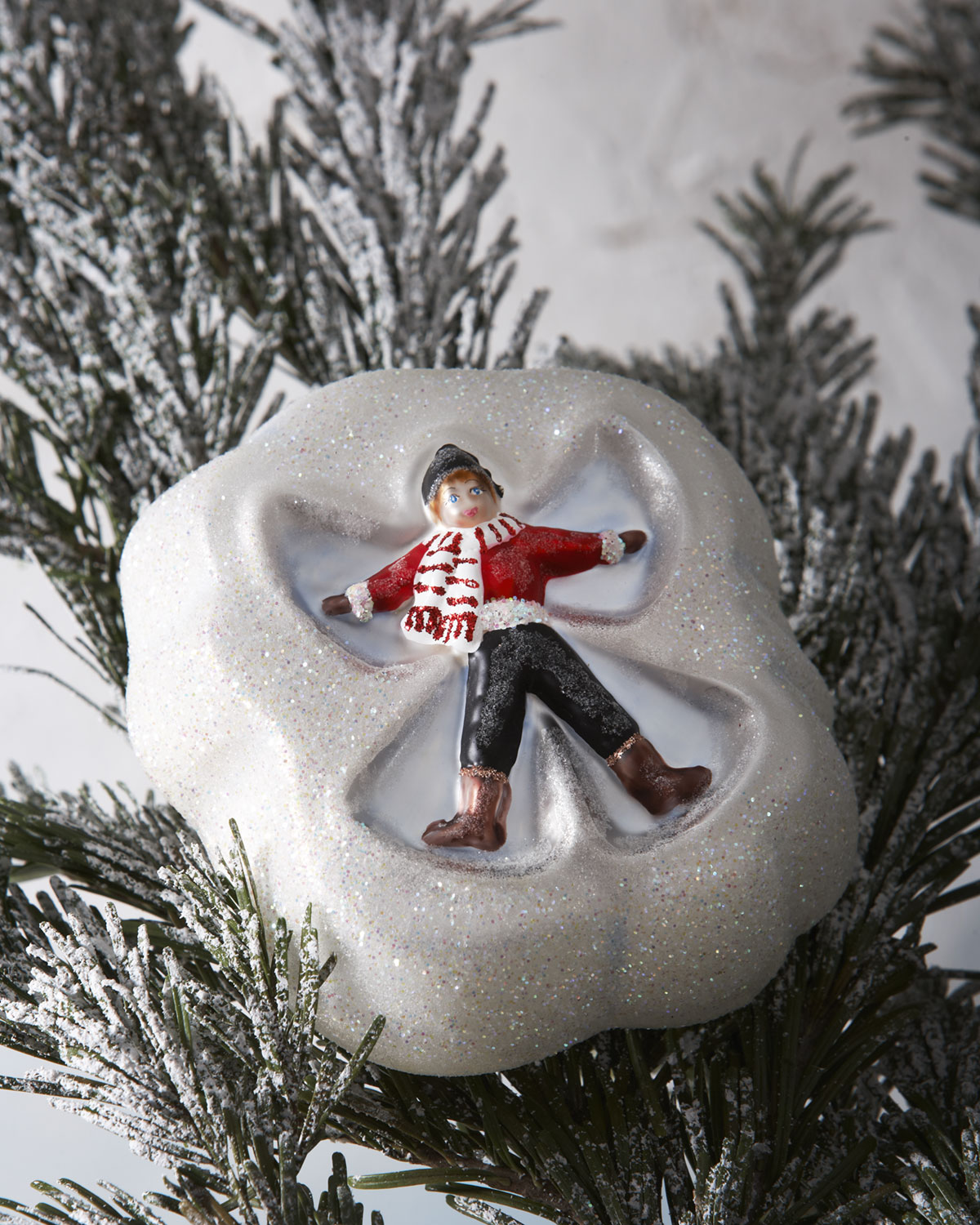 Cortina Snow Angel Clip-On Christmas Ornament