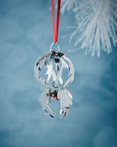 Abstract Swirl Christmas Ornament