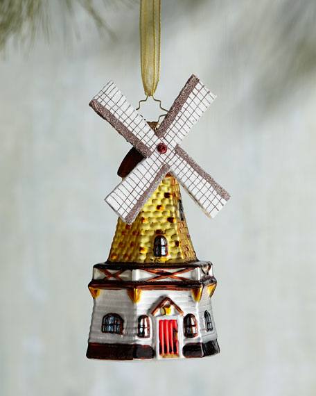 Going Dutch Windmill Christmas Ornament