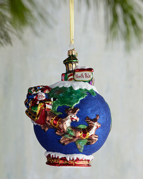 Midnight Trip Christmas Ornament