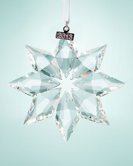 2013 Annual Star Ornament