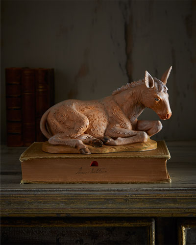 Fontanini Seated Donkey Figure
