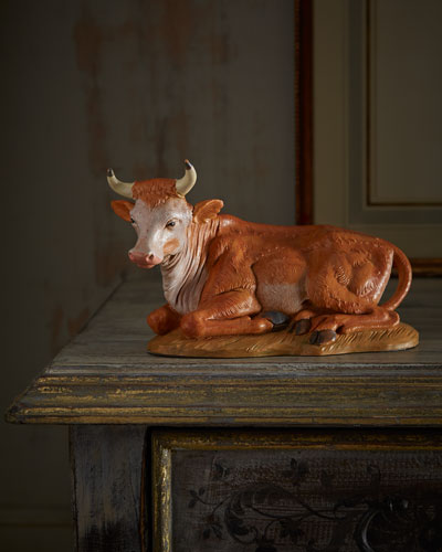 Fontanini Seated Ox Figure