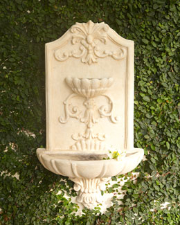 NM EXCLUSIVE Tuscana Wall Fountain
