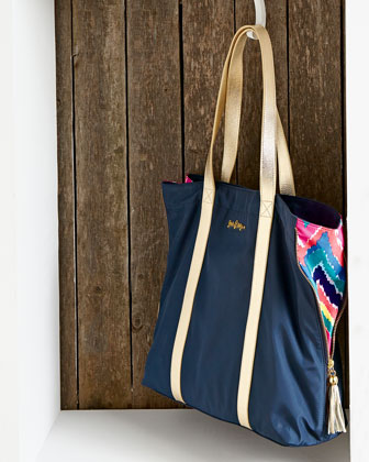 Solid Shopper Tote