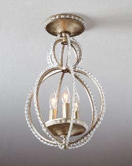 Crystorama Convertible Pendant Light Fixture