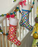 Pop Color Christmas Stocking