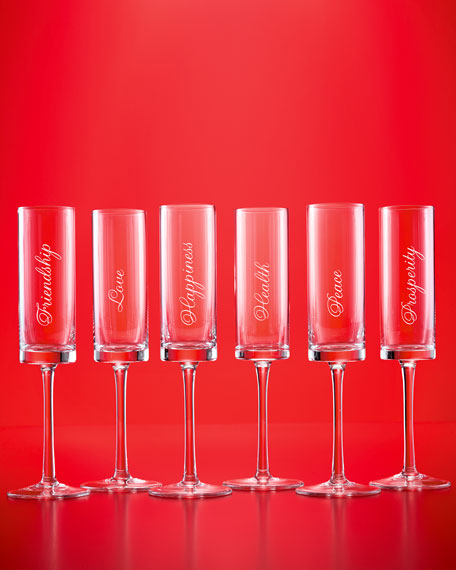 Six Well Wishes Flutes