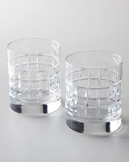 Waterford Two London Double Old-Fashioned Glasses