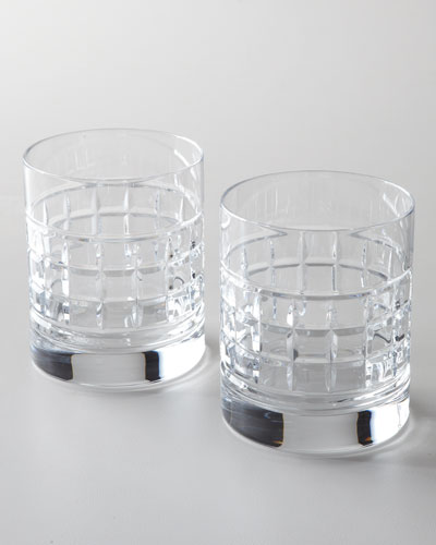 Waterford Crystal Two London Double Old-Fashioned Glasses