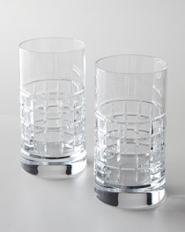 Waterford Two London Highball Glasses
