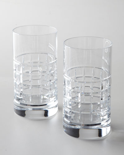 Two London Highball Glasses