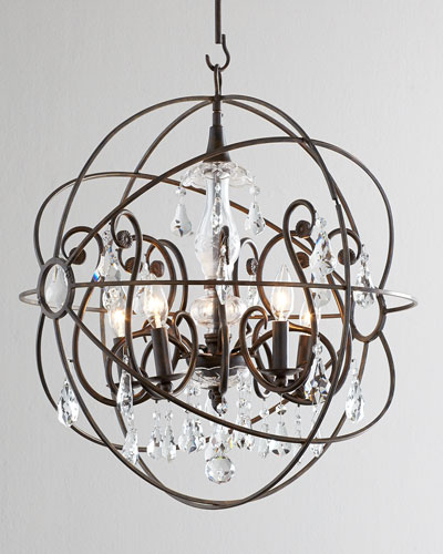 Solaris Five-Light Chandelier
