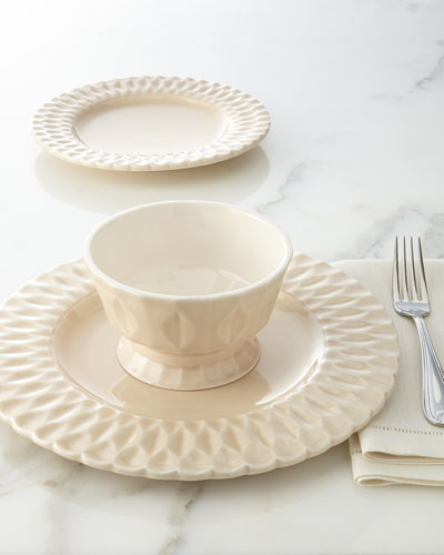NM EXCLUSIVE 12-Piece Quilted Dinnerware Service