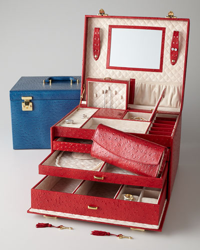 McKenna Extra-Large Jewelry Trunk