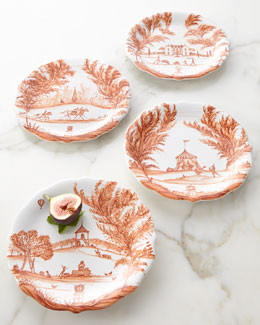Juliska Four Country Estate Autumn Party Plates