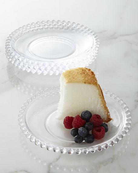 Four Chesterfield Dessert Plates