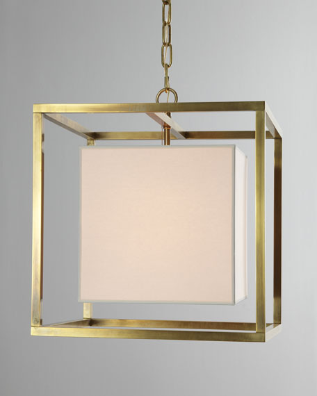 Cube Caged Lantern Pendant Light