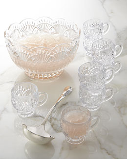 Godinger 10-Piece Freedom Punch Bowl Set
