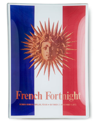 Neiman Marcus French Fortnight Tray, 6
