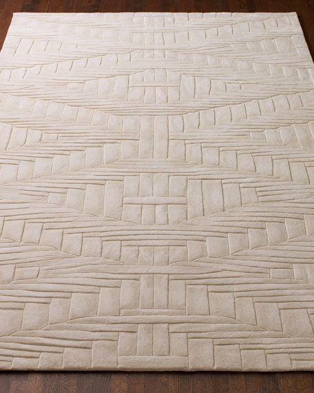 """Trapeze Rug, 5'6"""" x 7.5"""""""