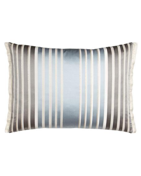 """Striped Linen Pillow, 24"""" x 18"""""""
