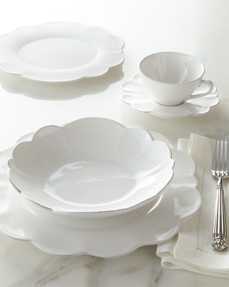 20-Piece Scallop Dinnerware Service