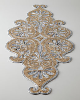 NM EXCLUSIVE Prachi Beaded Table Runner