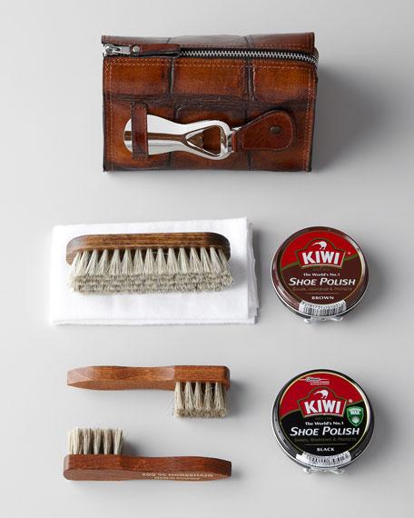 Kiwi Leather Shoe Polish Kit