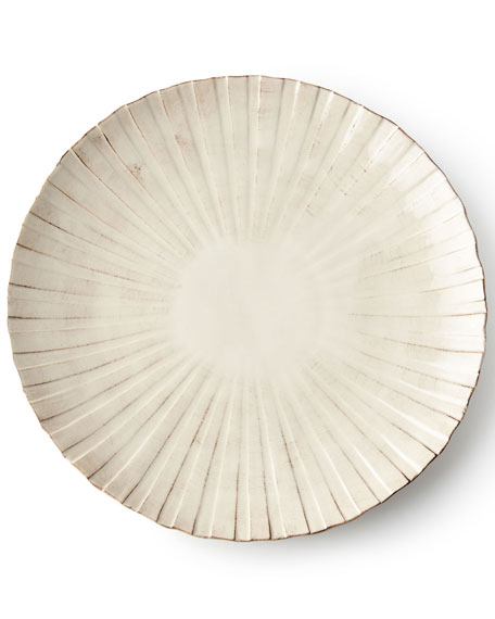 12-Piece Shell Ridge Dinnerware