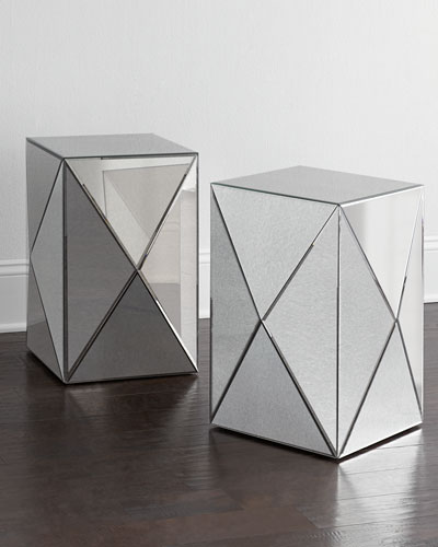 NM EXCLUSIVE Geometric Side Table