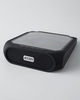 Eton Rugged Rukus Solar-Powered Bluetooth Speaker