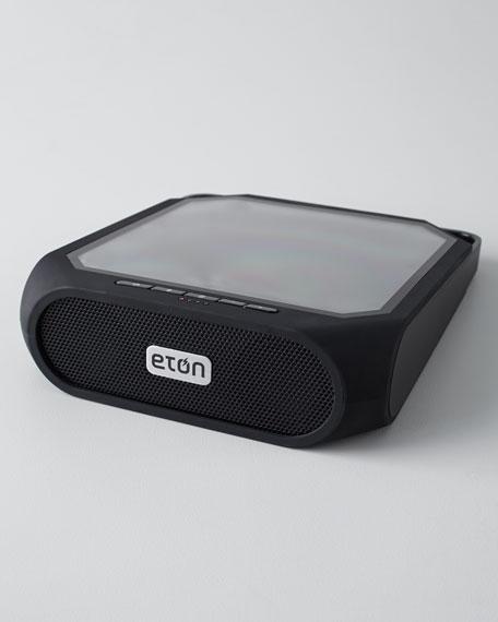 Rugged Rukus Solar-Powered Bluetooth Speaker