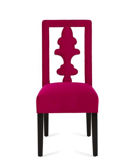 Fuchsia Tiara Chair