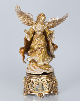 Jay Strongwater Musical Angel Figurine