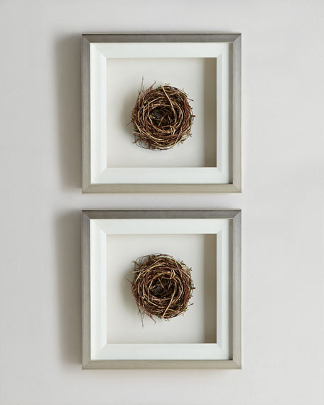 Honeysuckle Nest Wall Decor