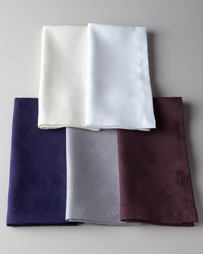 Four Fan Flower Napkins