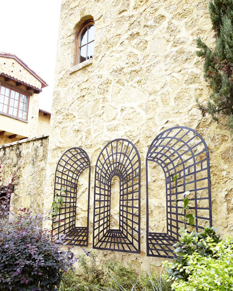 Three-Piece Garden Arch Wall Decor